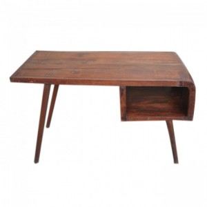Avalon Scandinavian Desk - Natural Brown