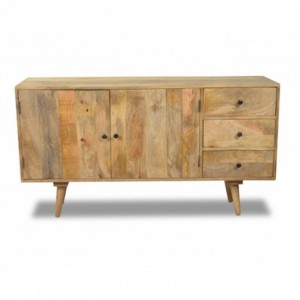 AVALON Solid wood Sideboard Natural 160CM