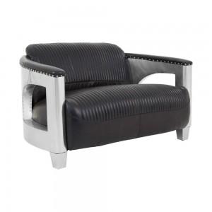 Aviator Black Spitfire Sofa