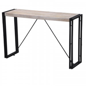 Barn wood Industrial Console Table