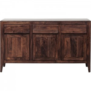 Boston Taper Contemporary Solid Wood Sideboard Hutch Buffet 145x40x85cm