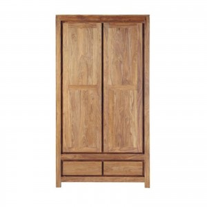 Contemporary Boston Solid Mango Wood Cabinet