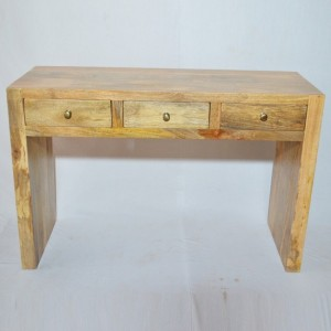 Contemporary Boston Console Table Natural