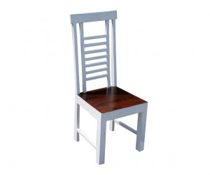 French Blanc Wooden Chair