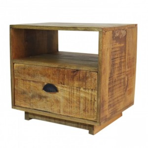 Carlton Hard Wood Bedside With one Drawer