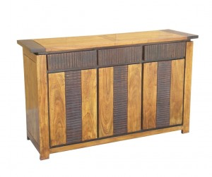 MADE TO ORDER Indian Lyon Wooden Sideboard 140x45x85 cm