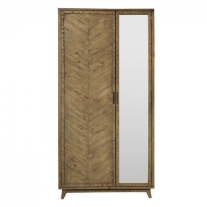 Clovelly designer solid wood wardrobe cabinet pantry
