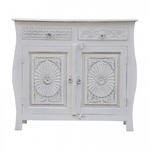 French Colonial Style Carved Sideboard