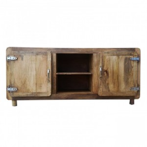 Cromer Scandinavian TV Unit - Natural Brown