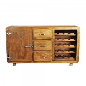 Contemporary CROMER Sideboard Wine Rack