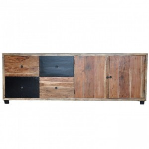 VIVID Colour Modern Solid Wood X Large Sideboard A 240x45x88cm
