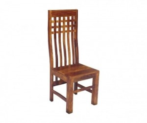 Boston Zen Contemporary Solid Wooden Chair