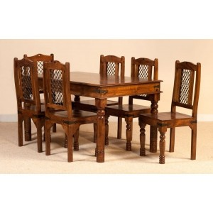 Takat 6 seater 150 x 90cm dining setting with 6 chairs