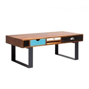 Vivid Solid wood modern Coffee Table