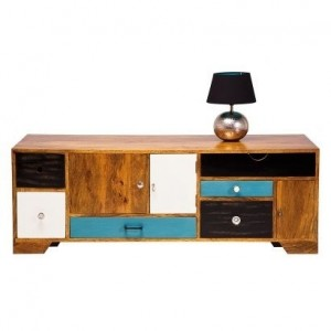 Vivid Contemporary Solid wood modern TV Plasma Stand