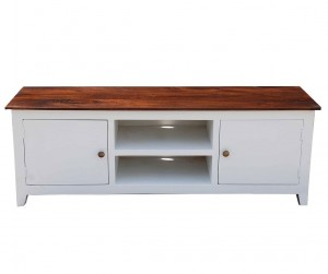 French Blanc Wooden T.V Cabinet