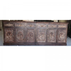MADE TO ORDER Maharaja Indian Wooden Sideboard With Doors & Drawers