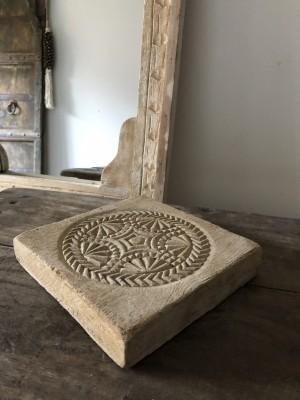 Mandala Of Wood Unique Chapati Plate D