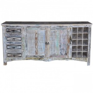 RUSTICA Reclaimed Wood Sideboard White