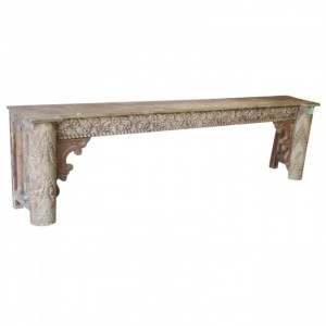 Antique Hand Carved Console Table 1.8M