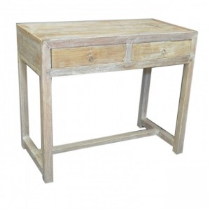 Antique Colonial Teak Console Table sideboard