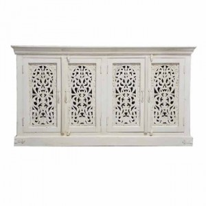 JALI Hand Carved solid wood Sideboard