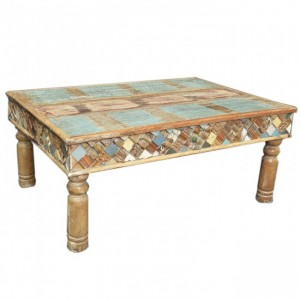 Liberty Reclaimed Wood Rectangle Coffee Table
