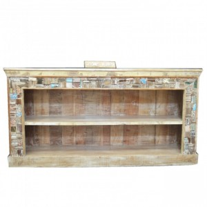 Liberty Reclaimed Timber Bookcase Wide