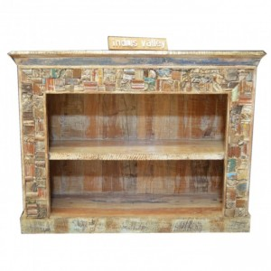 Liberty Reclaimed Timber Bookcase Small
