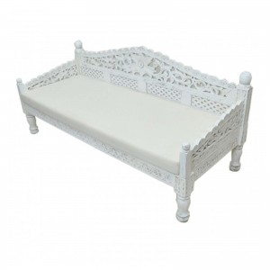 Hand Carved Balinese Daybed