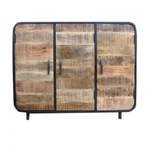 MILLER Industrial Timber Iron Sideboard