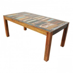 Nirvana Reclaimed boat wood Dining Table 180x90cm L