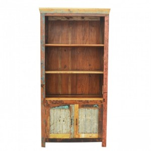Nirvana Reclaimed Timber Bookshelf book display stand