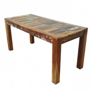 Nirvana Reclaimed boat wood Dining Table 160x70cm M