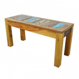 Nirvana Reclaimed Timber Boat wood Dining Bench 90cm