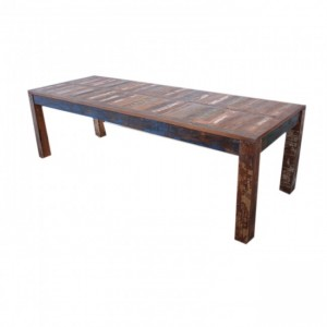 Nirvana Reclaimed Farmhouse Garden Dining Table 3m
