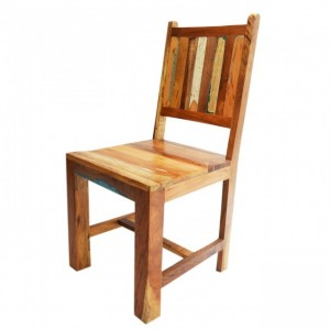 Nirvana Reclaimed timber Boat wood Dining Chair 105cm