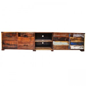Nirvana Reclaimed timber TV Entertainment Unit 220cm