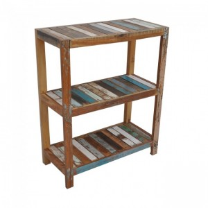 Nirvana Reclaimed Timber Bookshelf book stand Small