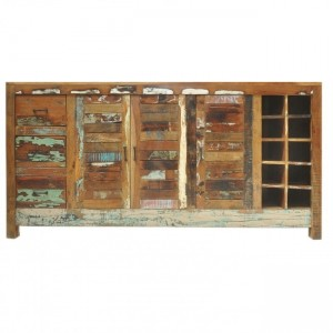 Nirvana Reclaimed Boat Timber Sideboard Buffet 1.8m L