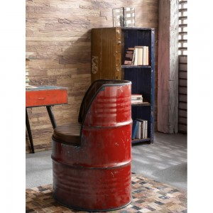 Oil Drum Chair