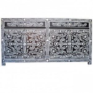 Pandora Bone inlay BlackFloral Sideboard A