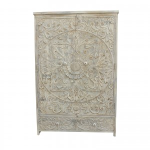 PARIS Hand Carved Solid Wood Cabinet