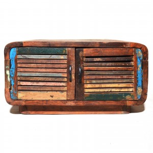 SALVAGE Reclaimed Timber 4 Doors Coffee Table