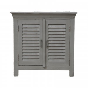 Shutter Reclaimed Wood Small Cabinet Sideboard