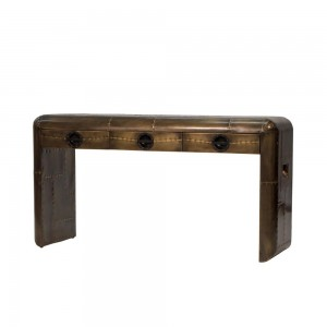 Spitfire Brass Console Table