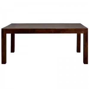 Boston Kompact  Dark  Large Dining Table 6FT    Size (cm):	D180 x W90 x H76