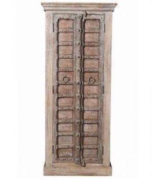 Antique Vintage Doors Sideboard Solid Wood India Brocante
