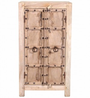 Antique Vintage Cupboard In Recycled Sideboard Wood India brocante