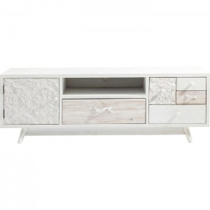 Vivid French Contemporary Mango Entertainment TV Unit Media Console 150x45x50